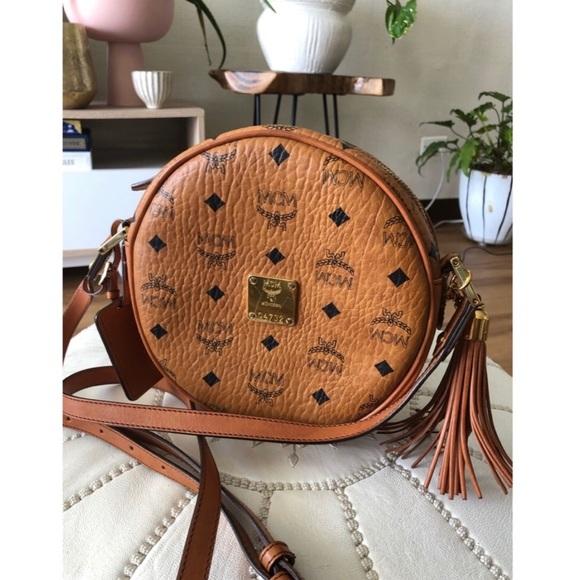 8fe0fa380 MCM Bags | Heritage Tambourine Bag | Poshmark
